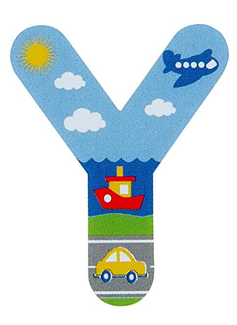 Jeu de bebe dekorasyon Dekoratif Y Harfi Renkli